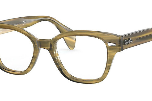 copy of Ray-Ban 0880 col 8056 Braun Havana striped