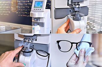 Onsite Laboratory 1 hour service on glasses