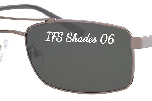 IFS 06 Mod 37 shades flex hinge col 1 Gunmetal