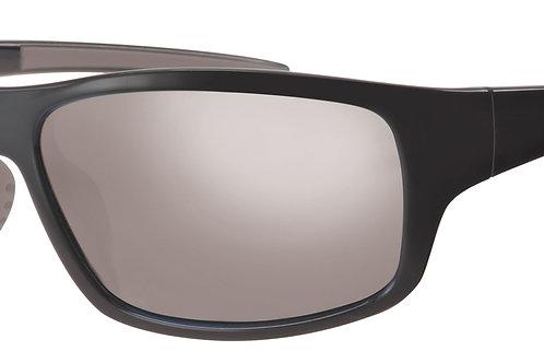 Mod 24 wrap Sunshades col 02 Black/Silver