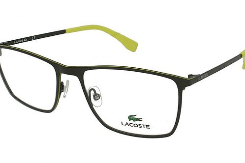 Lacoste FS13 2223 Col 315 Olive Green/Yellow trim
