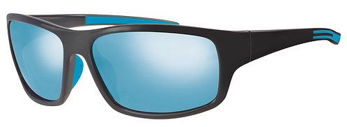 Mod 31 wrap Sunshades col 01 Black/Blue