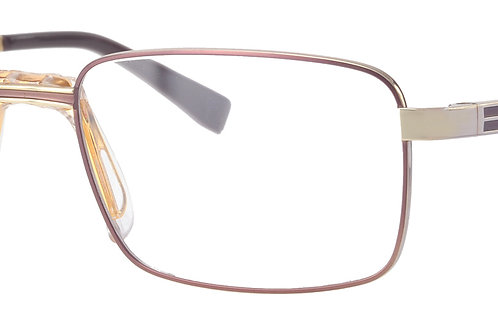 Mens Titanium FS1 726 Col 41 Brown/Gold