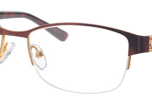 Joia J2548 - Col 1 Brown Swarovski Crystal