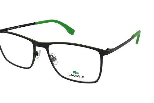 Lacoste FS11 2232 col 001 Black/Green trim