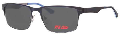 Mod 9 sunglasses Elite col 16 Navy/Gun