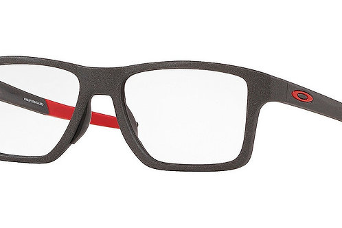 Oakley 0x8143-0852 light steel Chamfer Squared