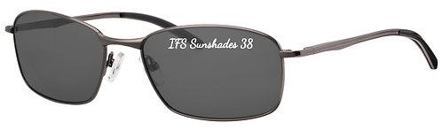 IFS 38 Mod 5 shades flex hinge  col 1 Gunmetal