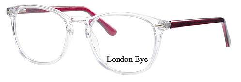 London Eye 3 col 62 Red Crystal