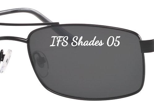 IFS 05 Mod 38 shades flex hinge col 1 Black