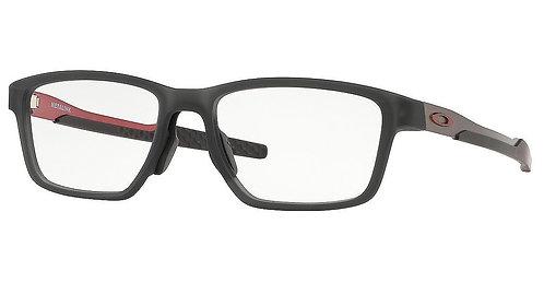 "Oakley. 0x8153-0555 Satin Grey Smoke Metalink red ""0""'s"