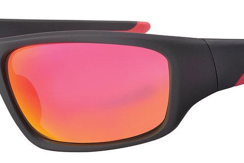 Mod 29 wrap Sunshades col 01 Black/Red