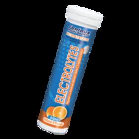 Comprimés ELECTROLYTES pour boisson Arôme Naturel d'Orange - Tube de 15