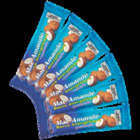 Barres Mac'Amande® - Saveur Noix de coco  Barre unitaire