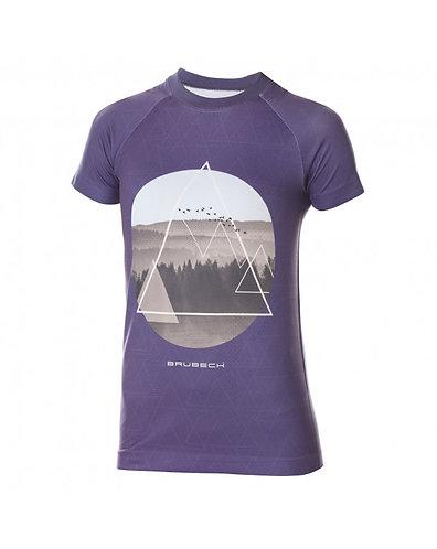 BRUBECK T-Shirt Femme CITY AIR BLEU