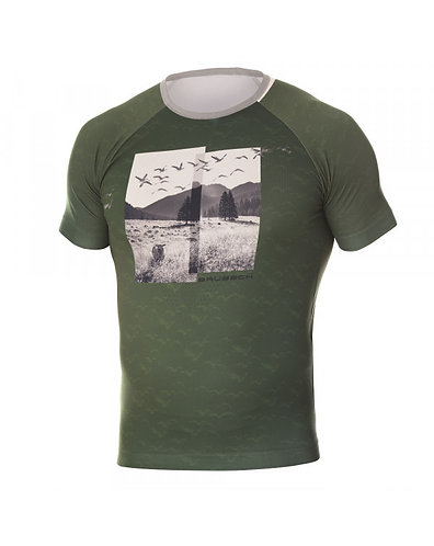 BRUBECK T-Shirt Homme CITY AIR VERT
