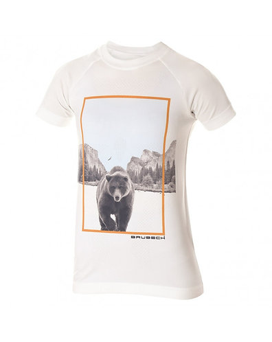 BRUBECK T-Shirt Femme CITY AIR BANC