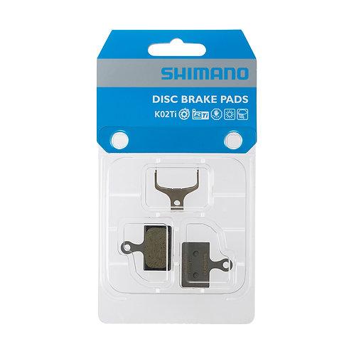 SHIMANO PLAQUETTES FREINS RESINE K02TI