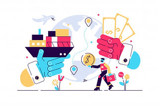 trade-illustration-flat-tiny-success-glo