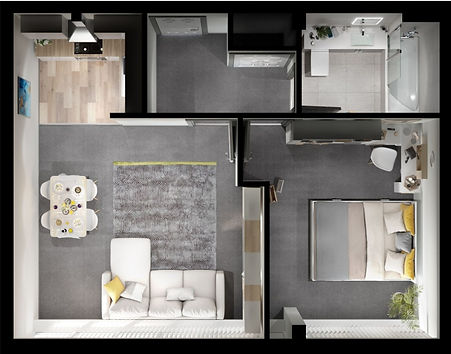 Yorkshire House HJ Collection Floor Plan