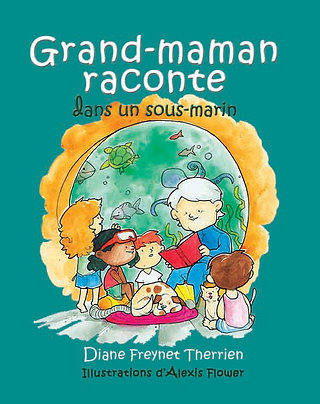 Grand-maman raconte dans un sous-marin