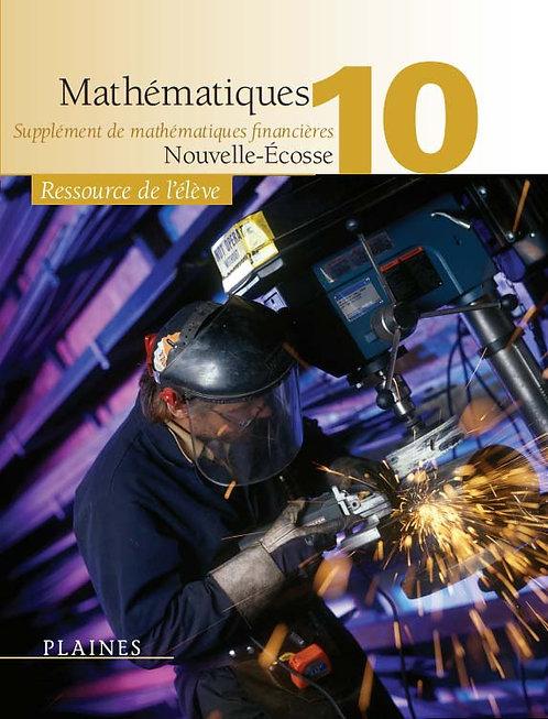 Mathématiques 10 Édition Nouvelle-Écosse (manuel de l'élève)