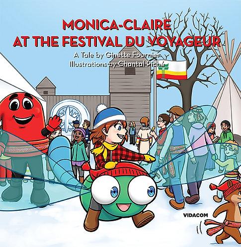 Monica-Claire at the Festival du Voyageur