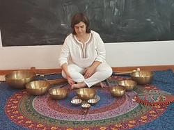 Meditação com Taças