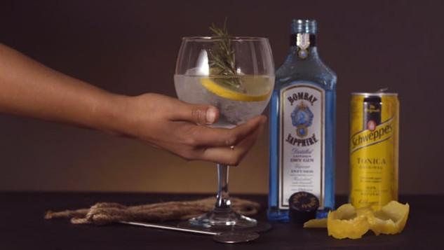 Bombay Sapphire x Schweppes Tonic - Stir creativity - Spec Ad 2021