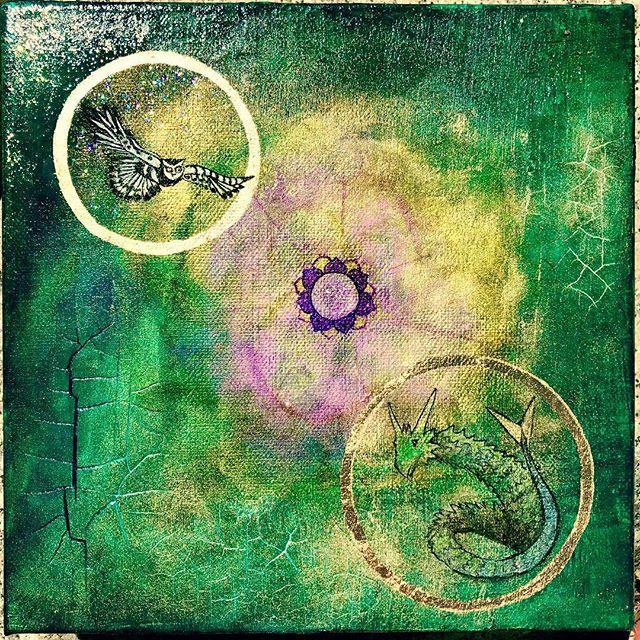 1973 #owlmagic #seadragon #synesthesia #