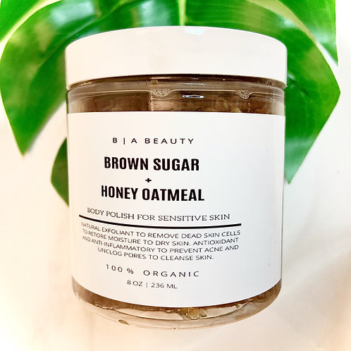 Brown Sugar + Oatmeal Body Polish