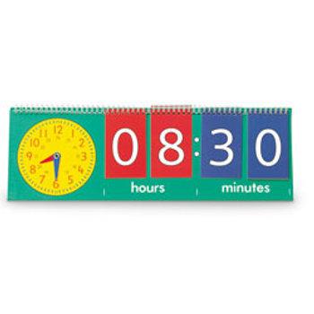 Tell Time Flip Chart