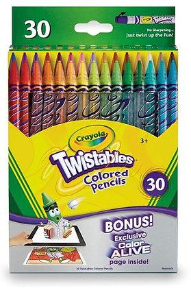 Crayola® Twistables® Colored Pencils - Set of 30