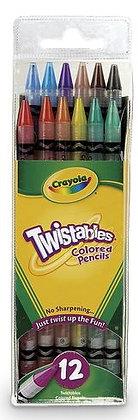 Crayola® Twistables® Colored Pencils - Set of 12