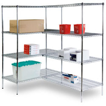 4-Shelf Storage Rack - 36 in. x 18 in. x 72 in.