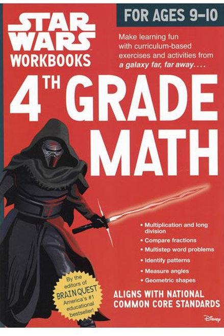 Star Wars® Math Workbook - Grade 4