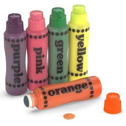 Do-A-Dot Art™ Paint Markers - 5-Pack Fluorescent Colors