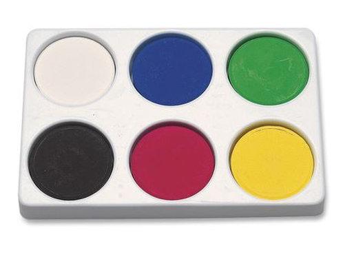 Jack Richeson® Tempera Color Blocks - Primary Colors - Set of 6