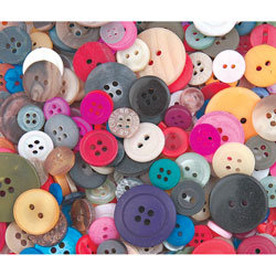 Bulk Button Assortment - 1-lb. Bag