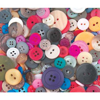 Bulk Button Assortment - 1-lb. Bag