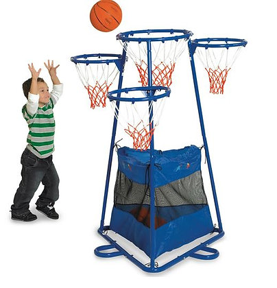 4-Ring Basketball Stand™ with Storage Bag