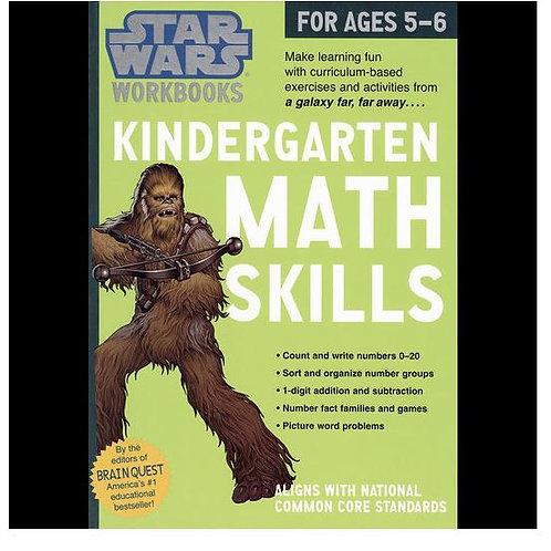 Star Wars® Math Workbook - Grade K