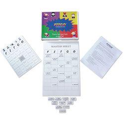 FITGO™ Fitness Bingo Game