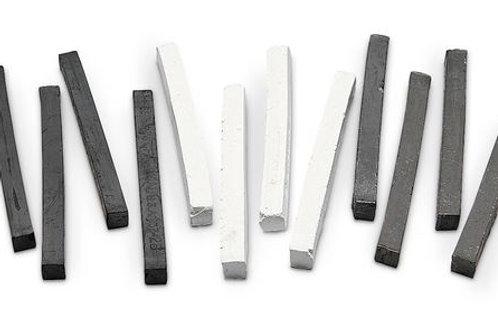 General's® Compressed Charcoal/Art Sticks - Set of 12