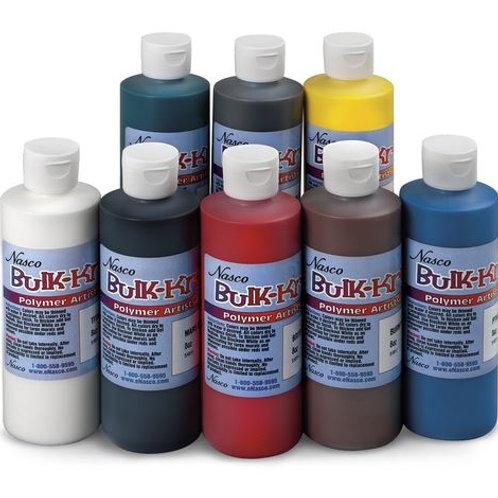 Nasco Bulk-Krylic® Acrylic Paint - Eight 8-oz. Bottle Set