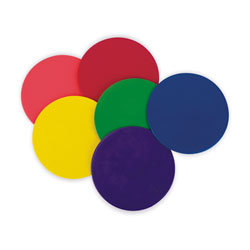 Poly Spots Markers, 9 inch, Set of 6 colors