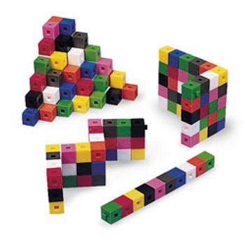 Interlocking Centimeter Cubes - Set of 1,000