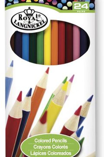 Royal Brush® Cool Art Colored Pencils - Set of 24