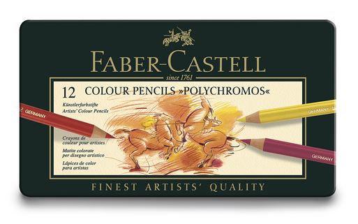 Faber-Castell® POLYCHROMOS® Artist Color Pencils - Set of 12