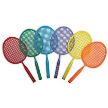 Junior Badminton Set, Set of 6 colors